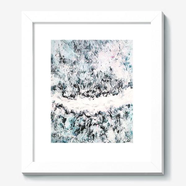 Картина «Замерзший лес»