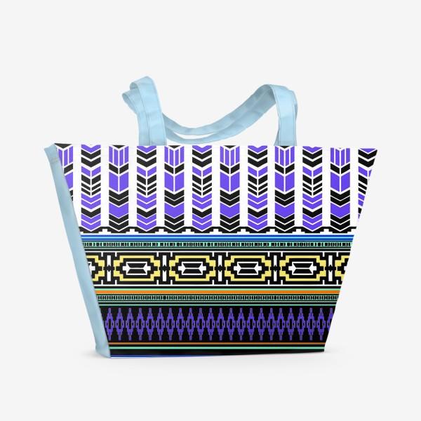 Пляжная сумка «Этно 4»