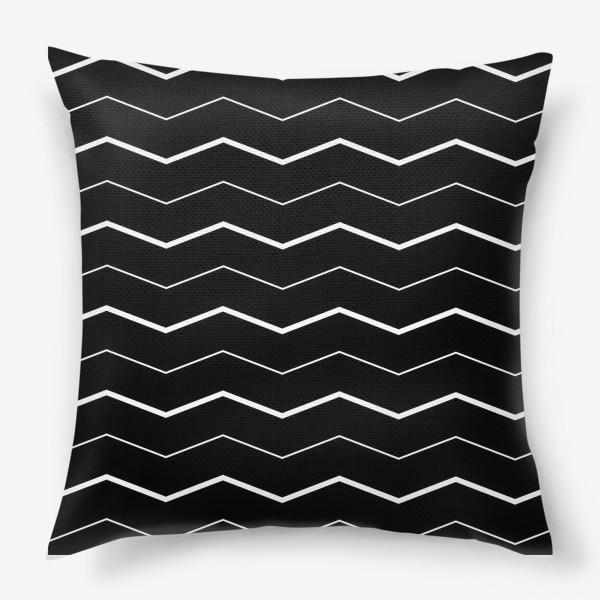 Подушка «Сканди зигзаги»