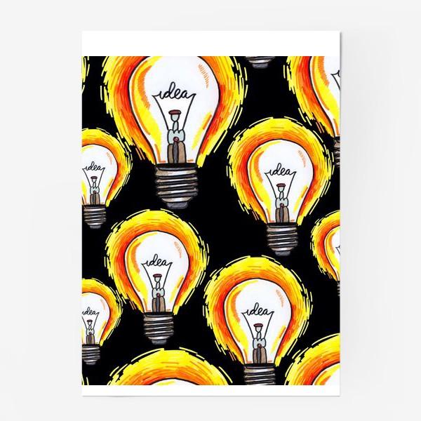 Постер «лампочки»