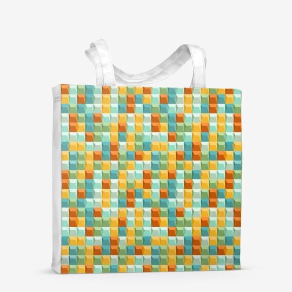 Сумка-шоппер «Геометрический узор2»
