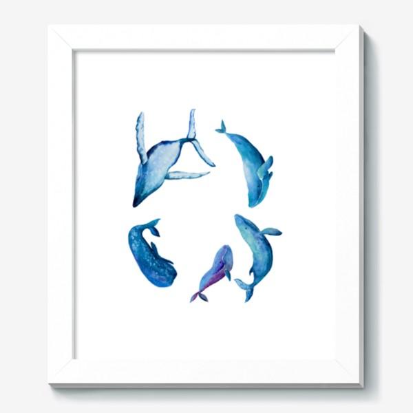 Картина «Семья Китов. Whales family»