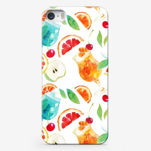 Чехол iPhone «Кафе у моря»