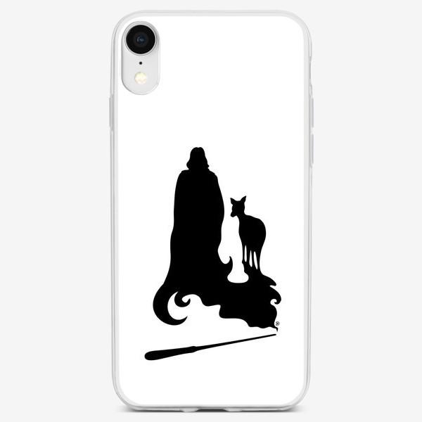 Чехол iPhone «Алан Рикман Северус Снейп и Лили»