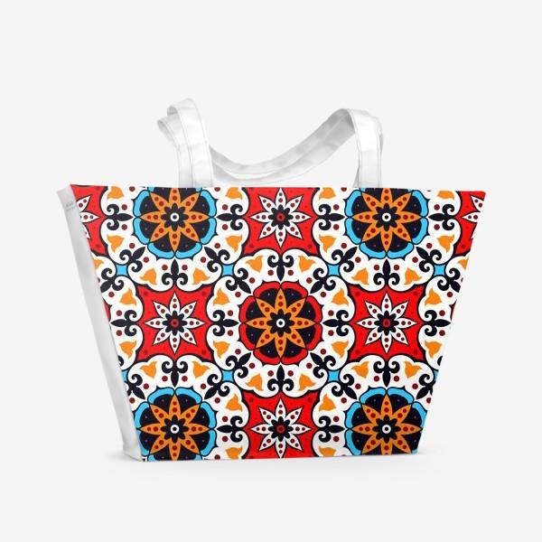 Пляжная сумка «Шамаханская царица»
