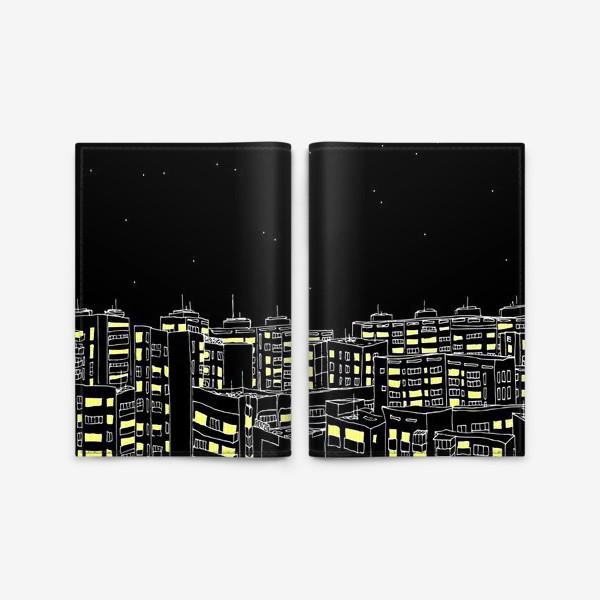 Обложка для паспорта «Night City»