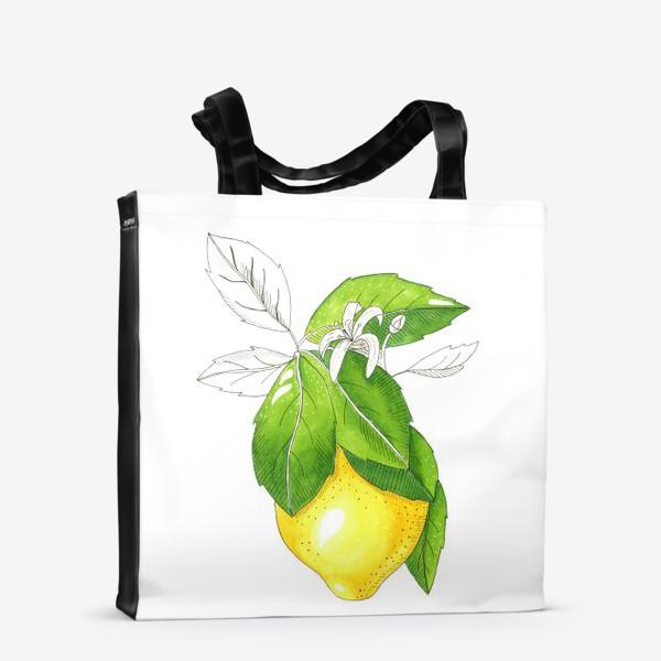 Сумка-шоппер «Сочный лимон»