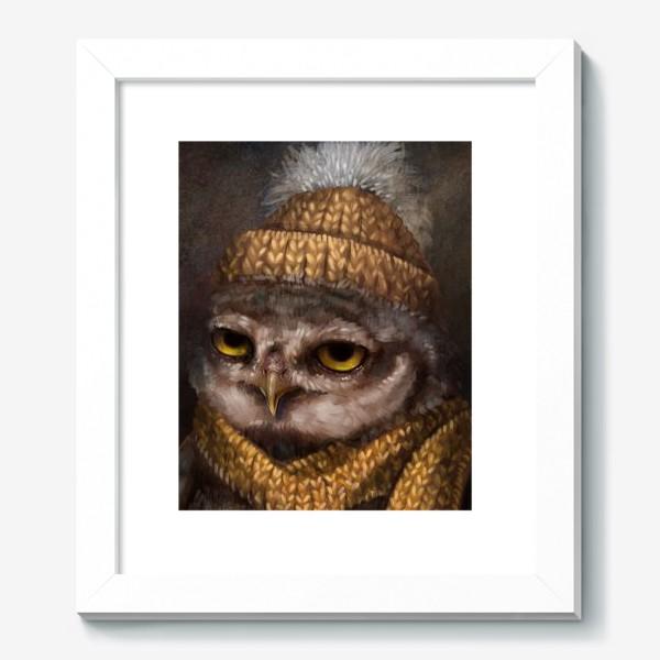 Картина «Недовольный сыч. Сова»