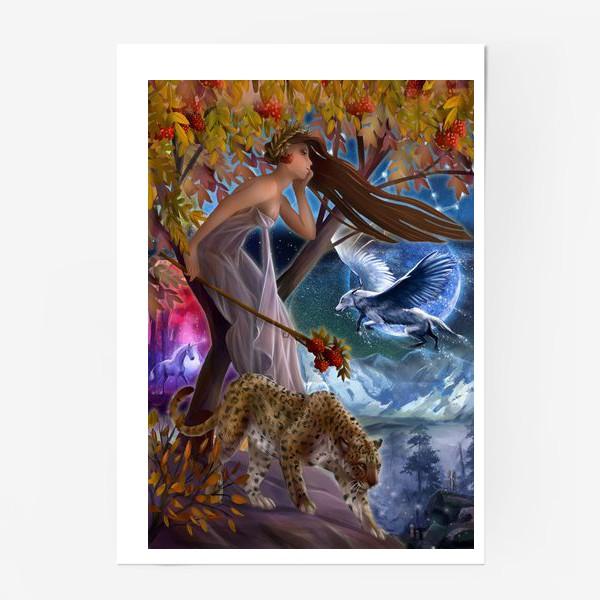 Постер «Нимфа, фея»