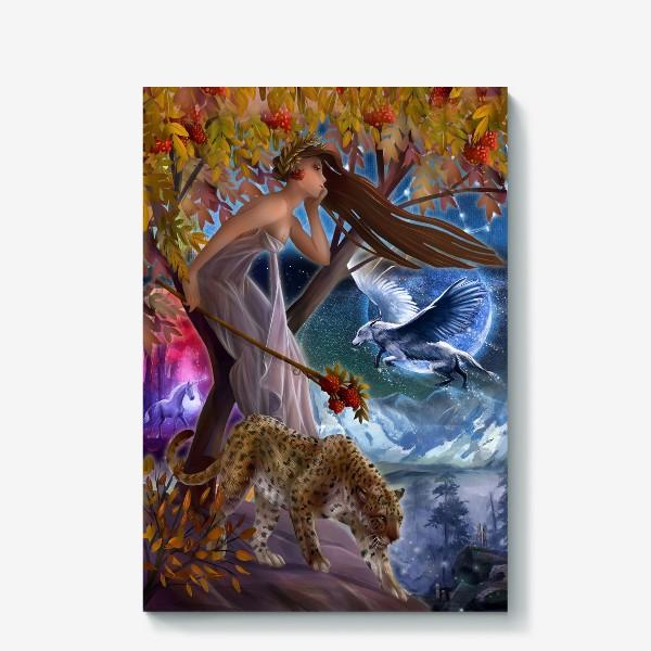 Холст «Нимфа, фея»