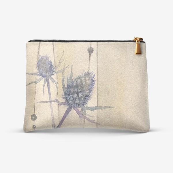 Косметичка «Сухоцветы: Колючки синеголовника »