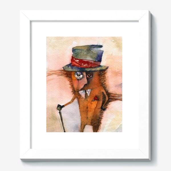 Картина «Настоящий джентльмен (Шляпа и трость)»