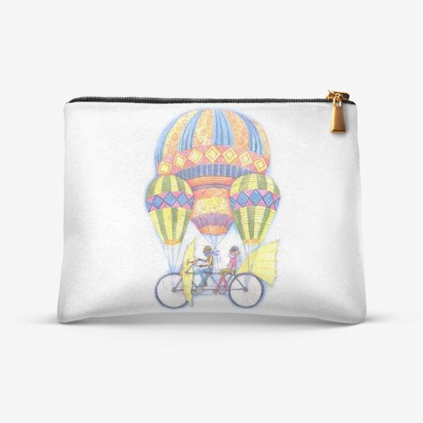 Косметичка «Летучий велосипед»