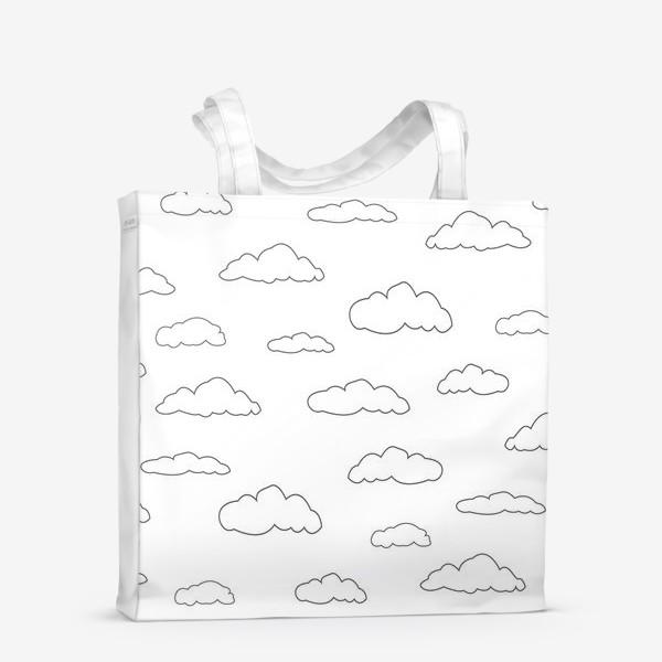 Сумка-шоппер «облака»