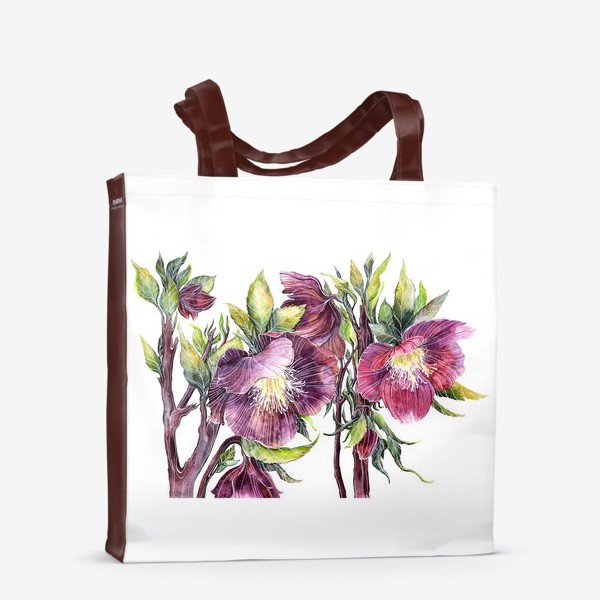Сумка-шоппер «Цветы Морозник»