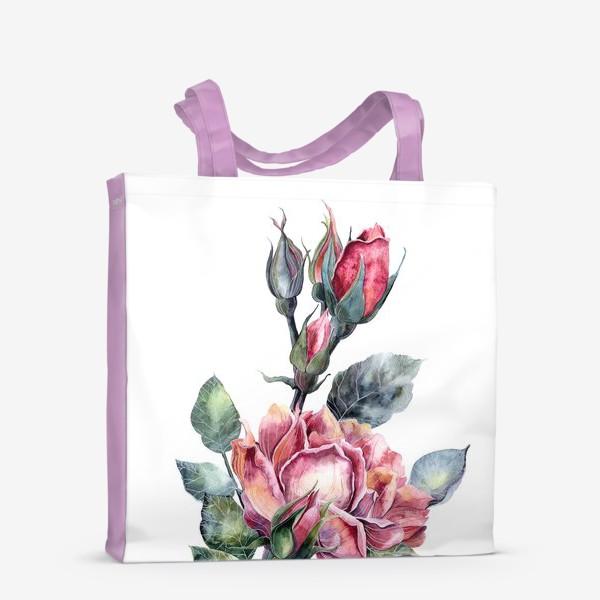 Сумка-шоппер «Цветы Розы»