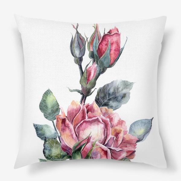 Подушка «Цветы Розы»