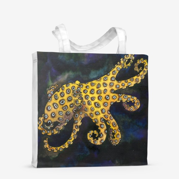 Сумка-шоппер «Голубокольчатый осьминог»