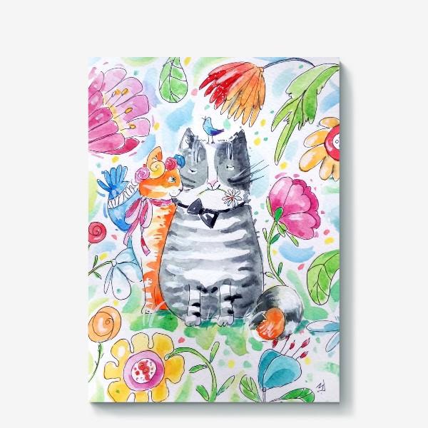 Холст «Мартовский кот»
