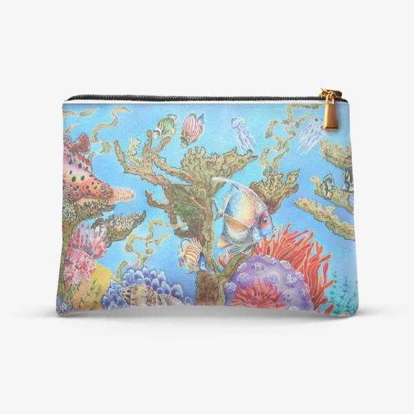 Косметичка «Коралловый риф »