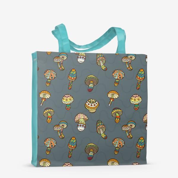 Сумка-шоппер «Веселые грибочки»