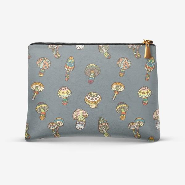 Косметичка «Веселые грибочки»