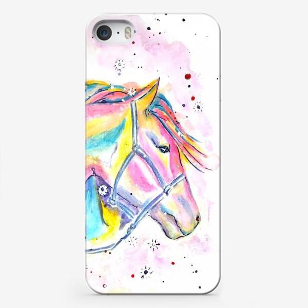Чехол iPhone «Красотка. Лошадь»