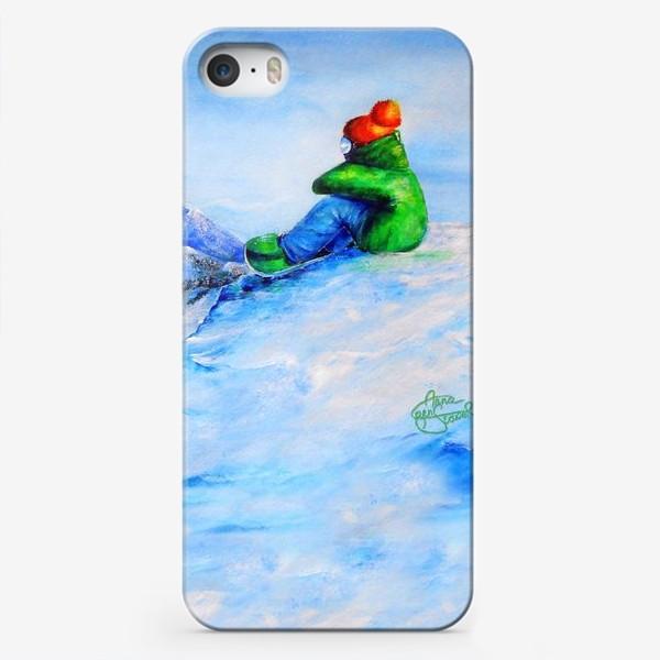Чехол iPhone «Сноубордист»
