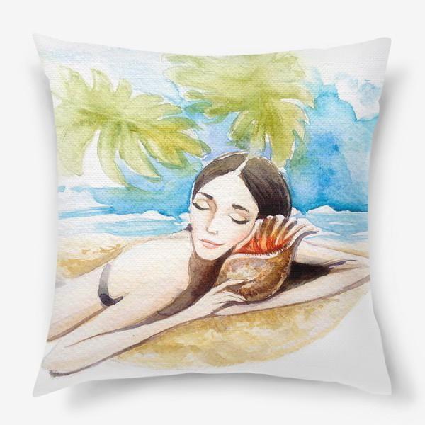 Подушка «летние сны»