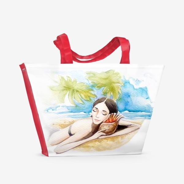 Пляжная сумка «летние сны»