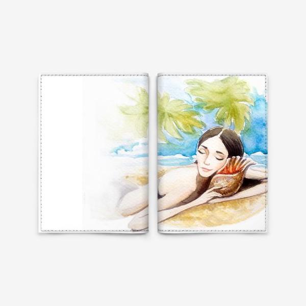 Обложка для паспорта «летние сны»