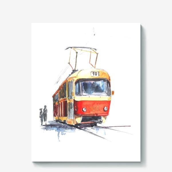 Холст «Tram»