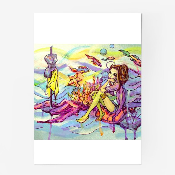 Постер «Морское дно»