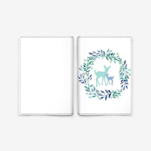 Обложка для паспорта «Нежность»