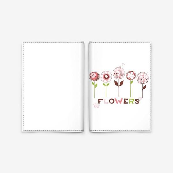 Обложка для паспорта «Flowers»