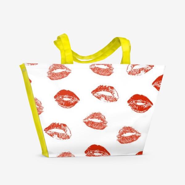 Пляжная сумка «Kisses»