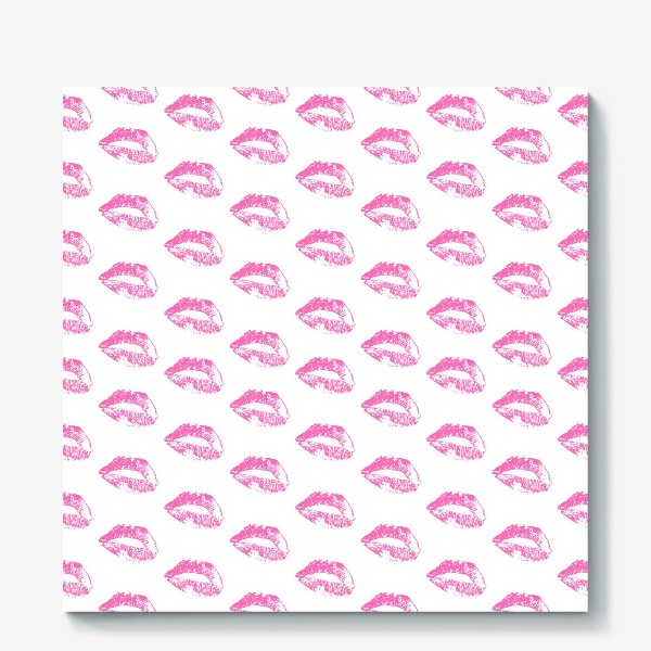 Холст «Pink Lips»