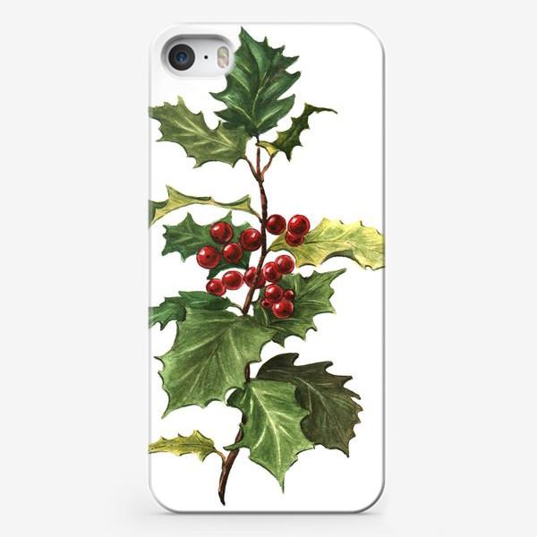 Чехол iPhone «Остролист»