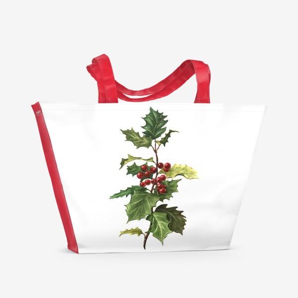 Пляжная сумка «Остролист»