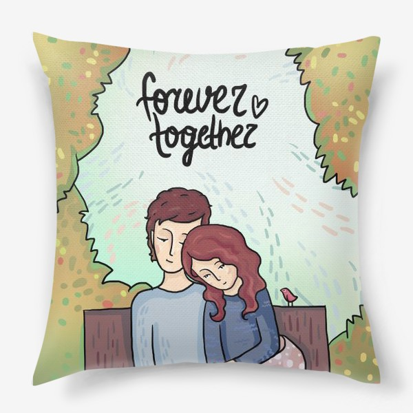 Подушка «Forever together»