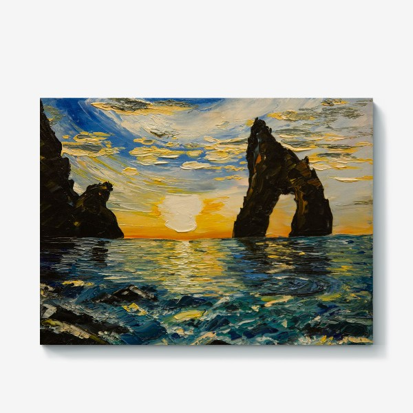 Холст «Морской пейзаж»