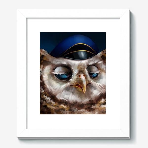 Картина «Уставшая сова»