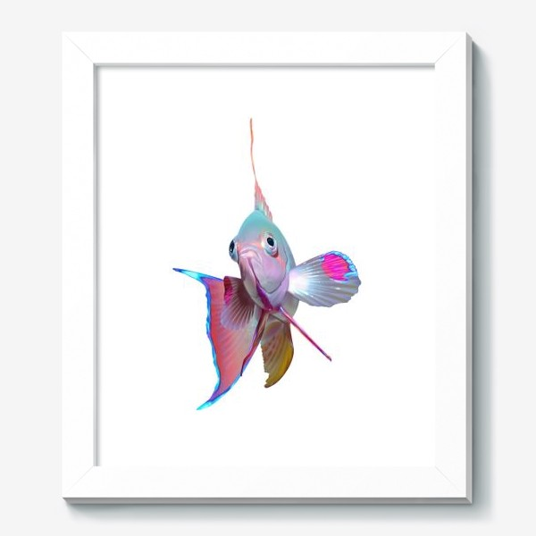 Картина «Серебристая рыбка»