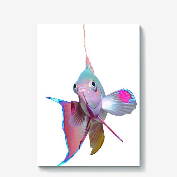 Холст «Серебристая рыбка»