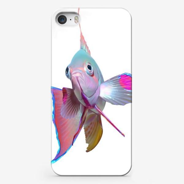 Чехол iPhone «Серебристая рыбка»