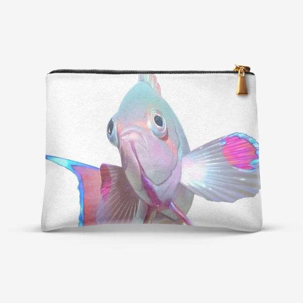 Косметичка «Серебристая рыбка»