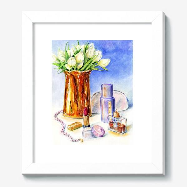 Картина «Натюрморт с золотой вазой.»