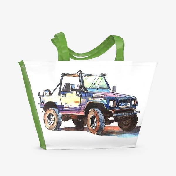 Пляжная сумка «Suzuki Samurai»
