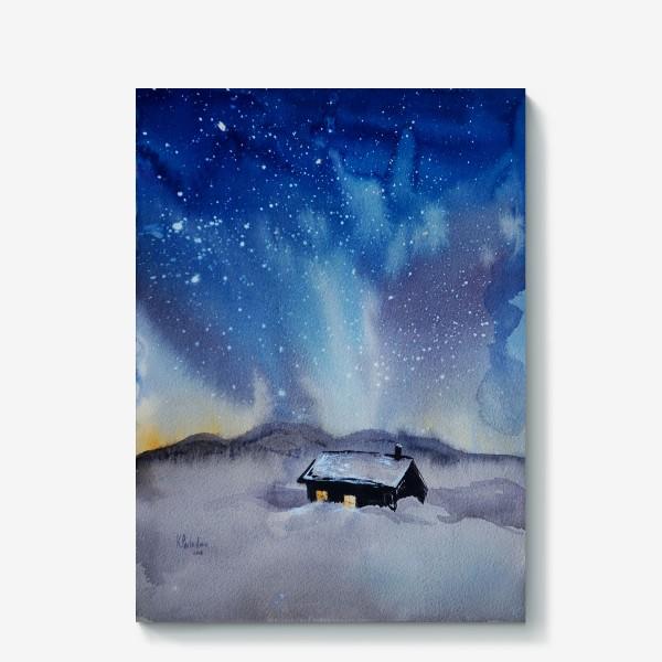 Холст «Северная ночь»