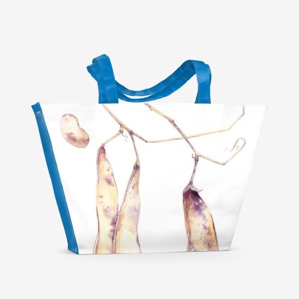 Пляжная сумка «фасолька»